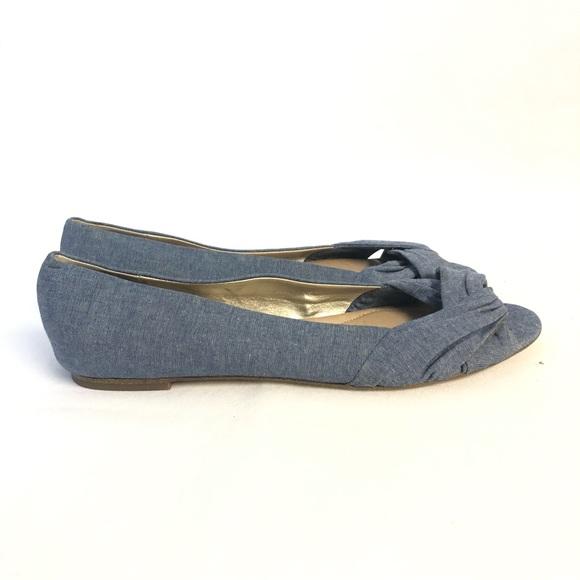 Lands' End Shoes - Lands End Blue Flats